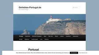 Geliebtes Portugal