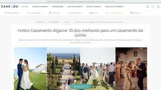 Hotels für Hochzeiten / Heiraten an der Algarve