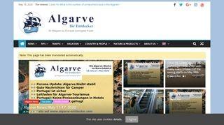 Algarve-News Online-Magazin Algarve für Entdecker