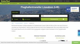 Flughafentransfer Lissabon (LIS)