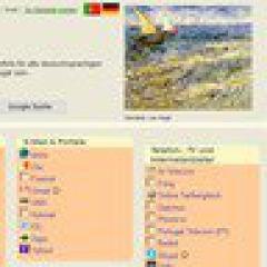 Internet: deutsche Startseite ins portugiesische Web