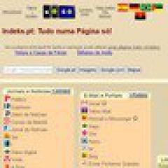 Internet: portugiesische Startseite ins Web