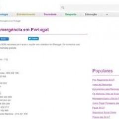 Notrufnummern in Portugal