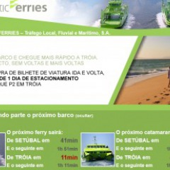 Fähre: Setúbal - Tróia